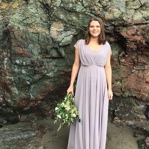 Show me your Mumu Purple/Lavender Bridesmaid Dress